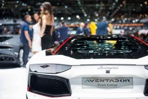 Salon de Genève 2015 - Lamborghini Aventador LP700-4 Pirelli edition