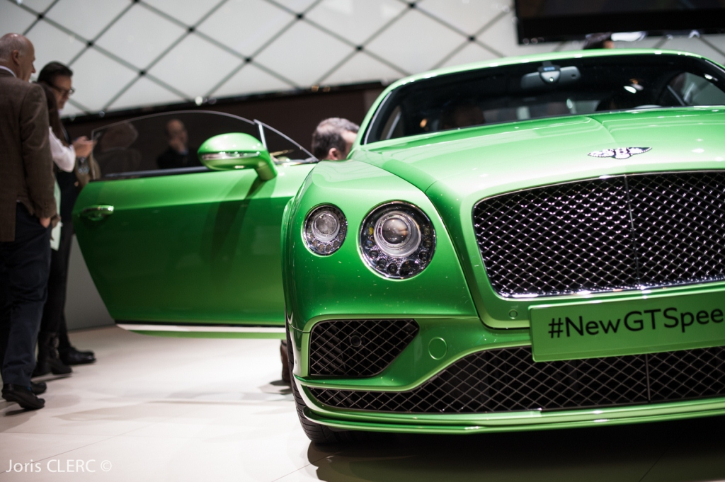 Salon de Genève 2015 - Bentley Continental GT