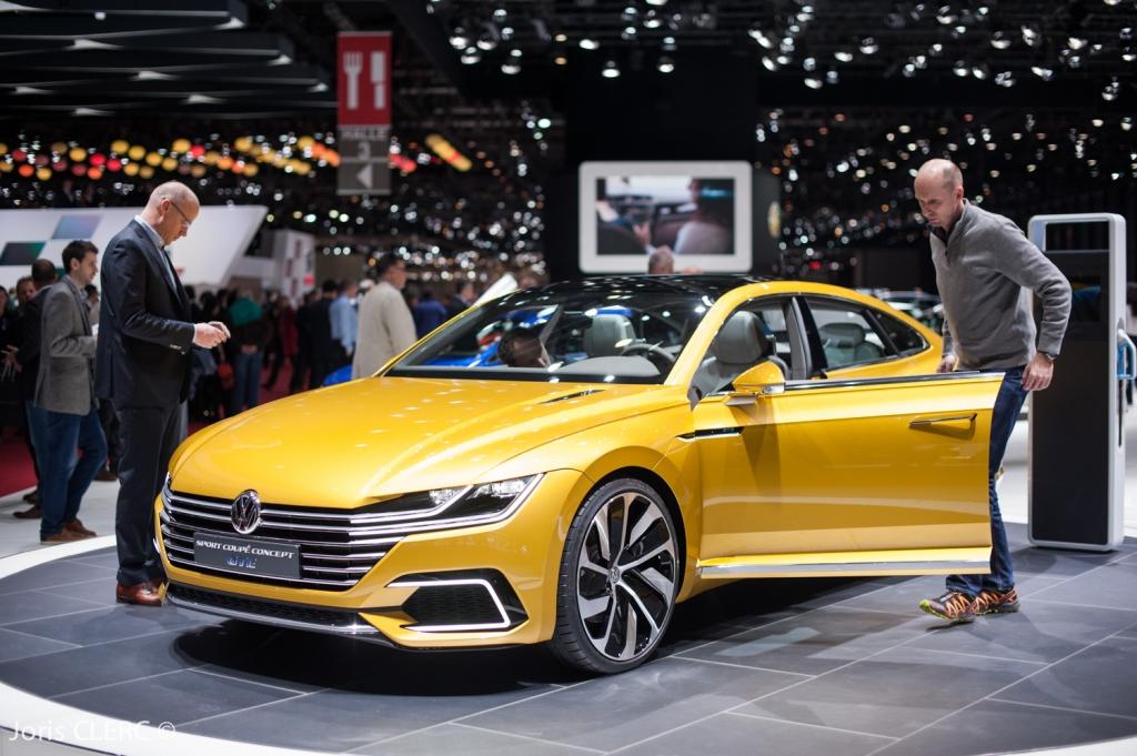 Salon de Genève 2015 - Volkswagen Sport GTE Concept
