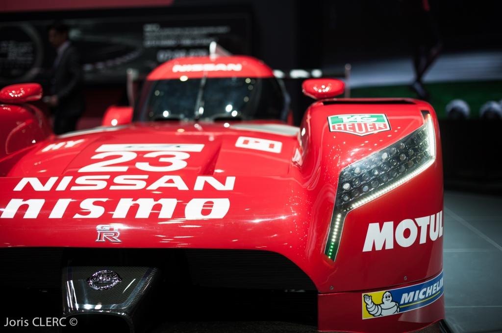Salon de Genève 2015 - Nissan GT-R LM Nismo LMP1