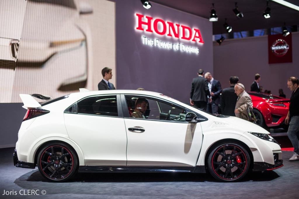 Salon de Genève 2015 - Honda Civic Type R