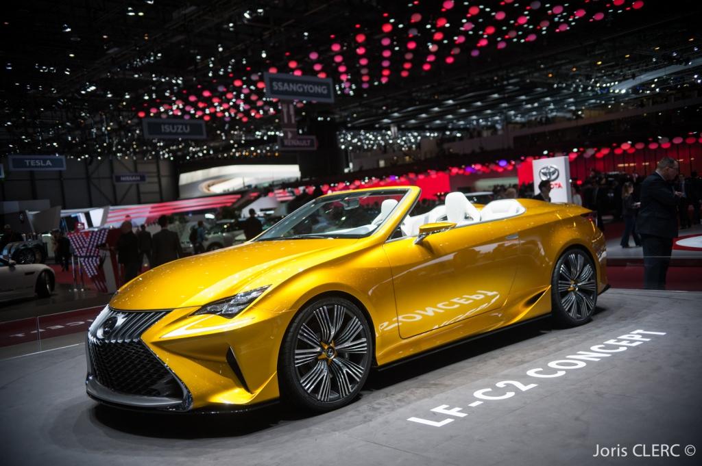 Salon de Genève 2015 - Lexus LF-C2 Concept