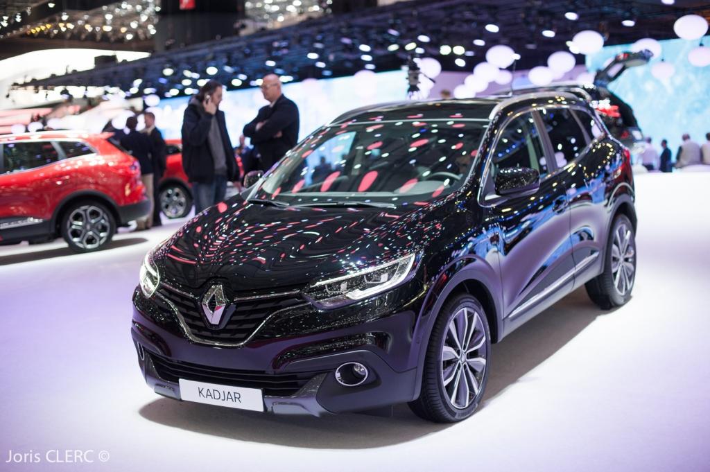 Salon de Genève 2015 - Renault Kadjar