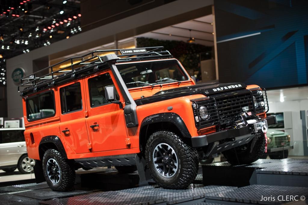 Salon de Genève 2015 - Land Rover Defender