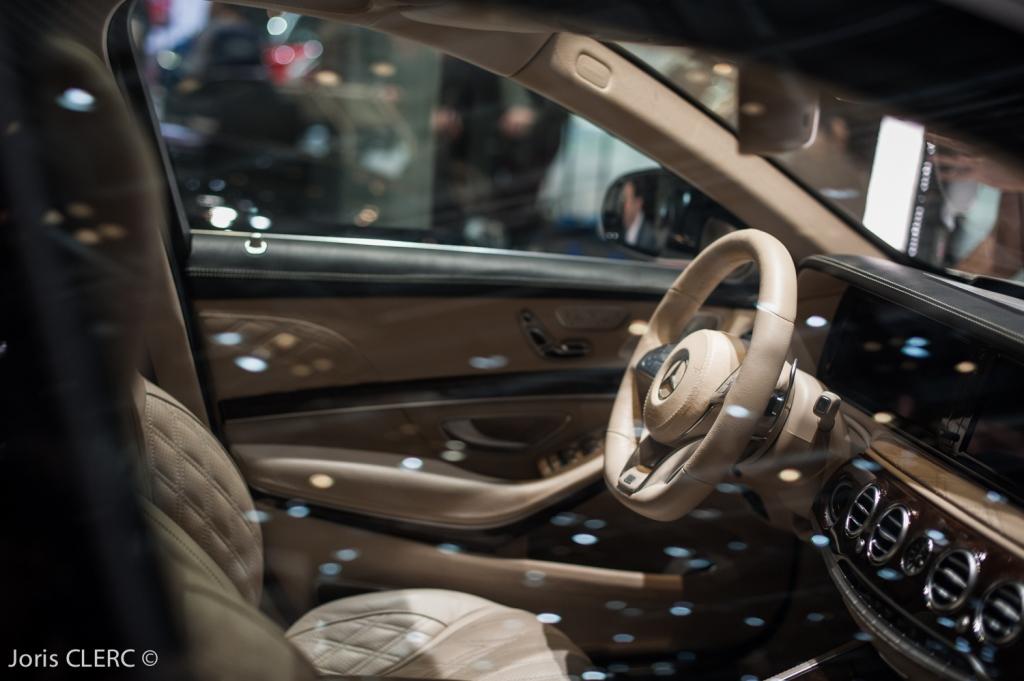 Salon de Genève 2015 : Mercedes Maybach
