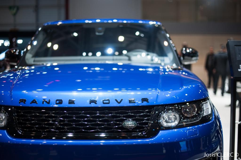 Salon de Genève 2015 - Range Rover SVR