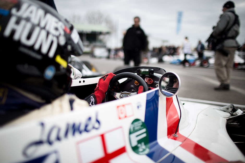 Goodwood 73 MM : Les démonstrations Groupe C et F1 « high airbox » - Freddie Hunt