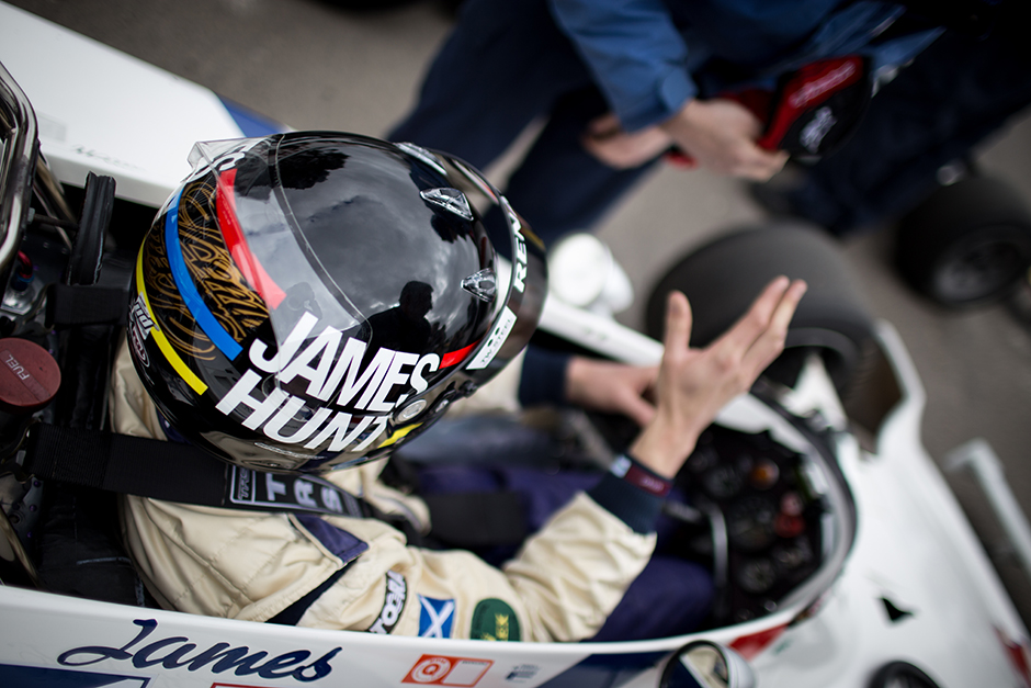 Goodwood 73 MM : Les démonstrations Groupe C et F1 « high airbox » - Freddie Hunt