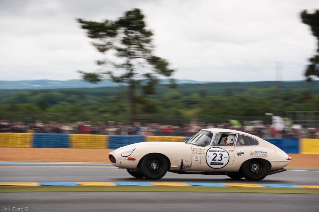 Jaguar Type-E 1962 - Jean-Pierre Lajournade
