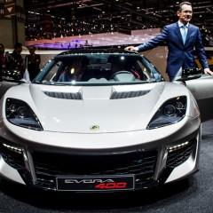 Salon de Genève 2015 : La Lotus Evora 400 en détails