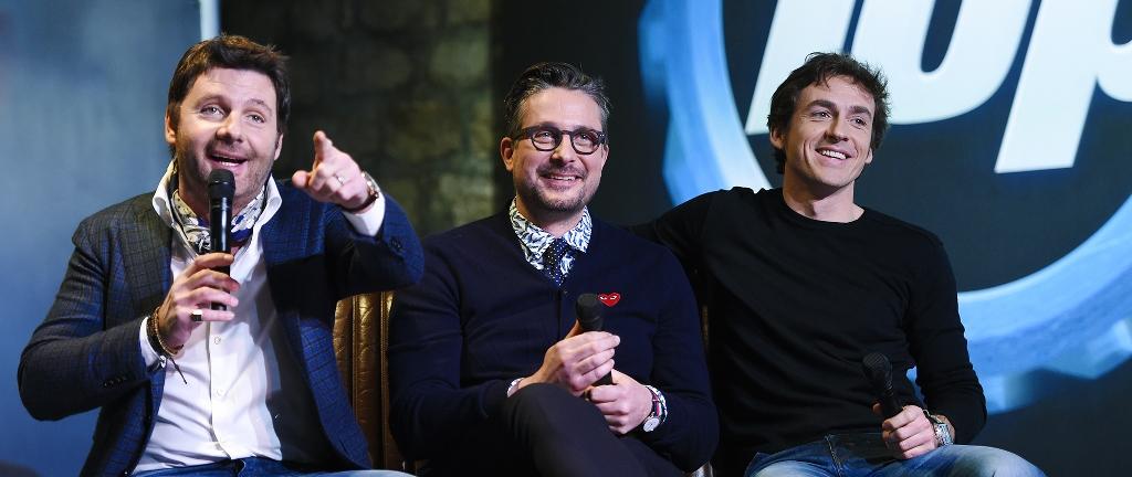 Top Gear France - Philippe Lellouch, Le Tone , Bruce Jouanny et le Stig