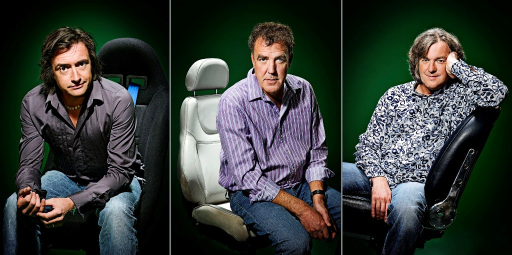 Top Gear UK - Richard Hammond, Jeremy Clarkson, James May