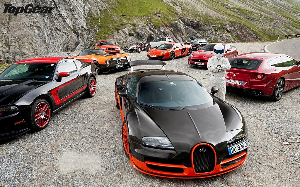 "Top Gear UK - the ""Stig"""