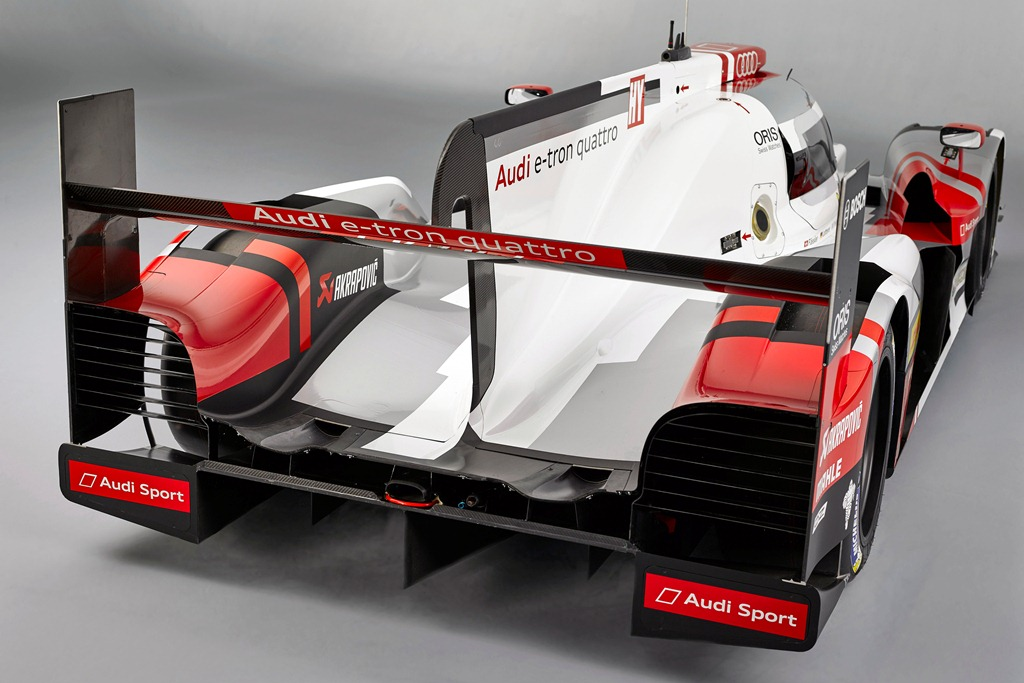 Audi Sport R18 e-tron quattro 2015