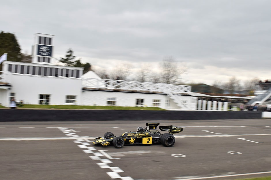 Goodwood 73 MM : Les démonstrations Groupe C et F1 « high airbox »
