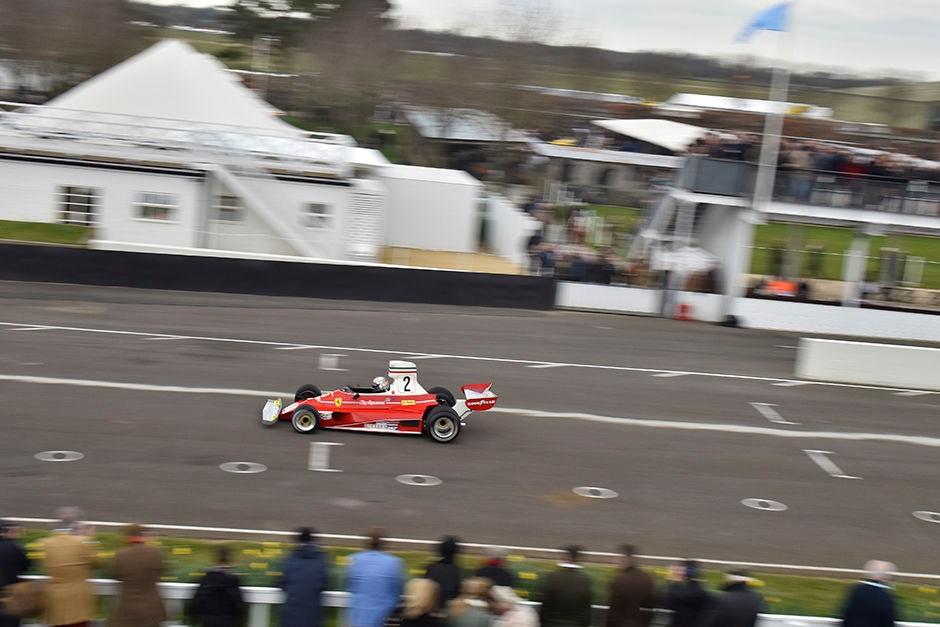Goodwood 73 MM : Les démonstrations Groupe C et F1 « high airbox »