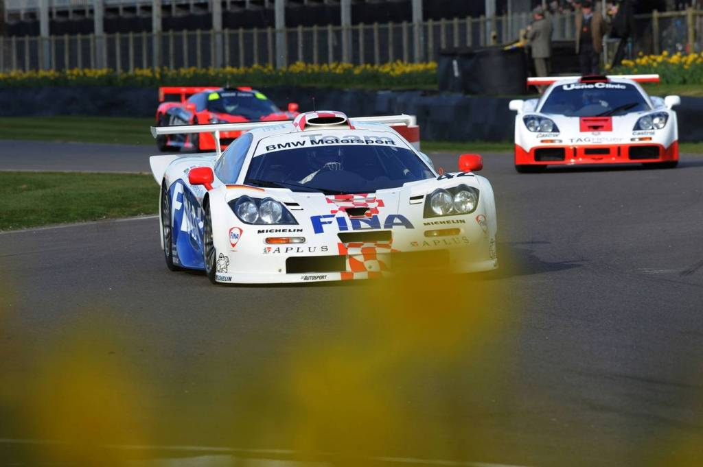 Goodwood 73 MM : Les 20 ans de la victoire au Mans d'une McLaren F1GTR
