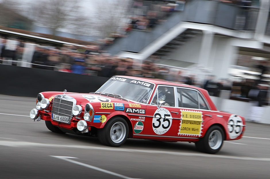 Goodwood 73 MM : La démonstration Mercedes - 300 SEL W190