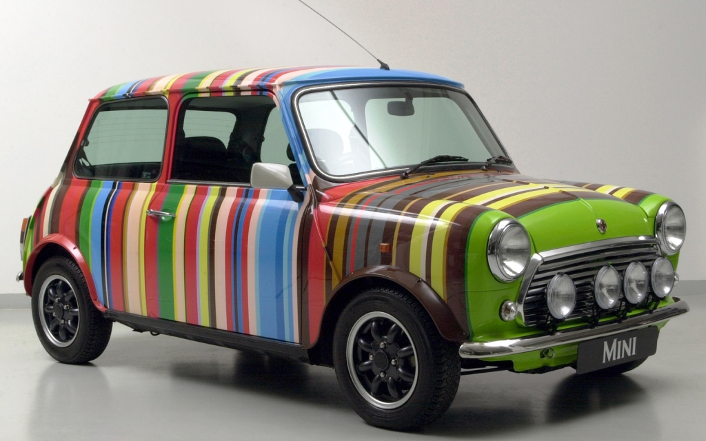 Austin Mini by Paul Smith
