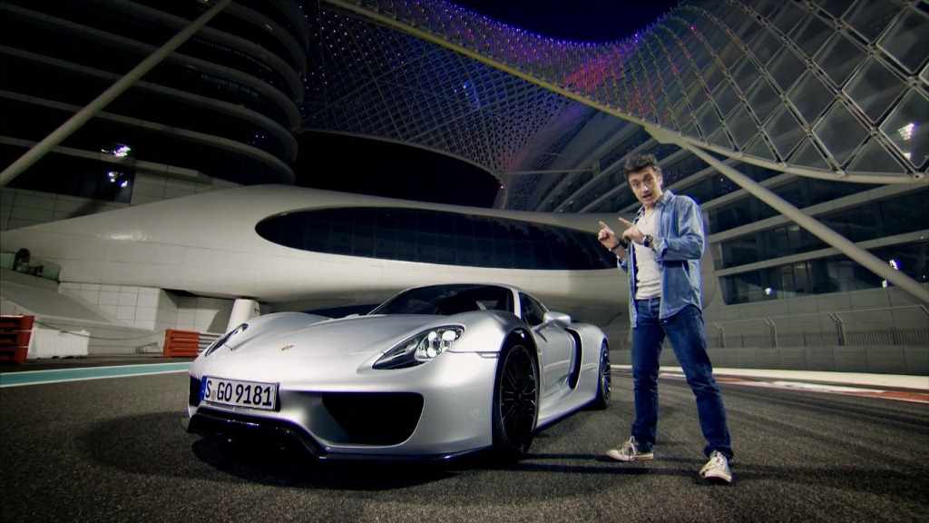 Richard Hammond - Top Gear - Porsche 918 - Circuit Yas Marina