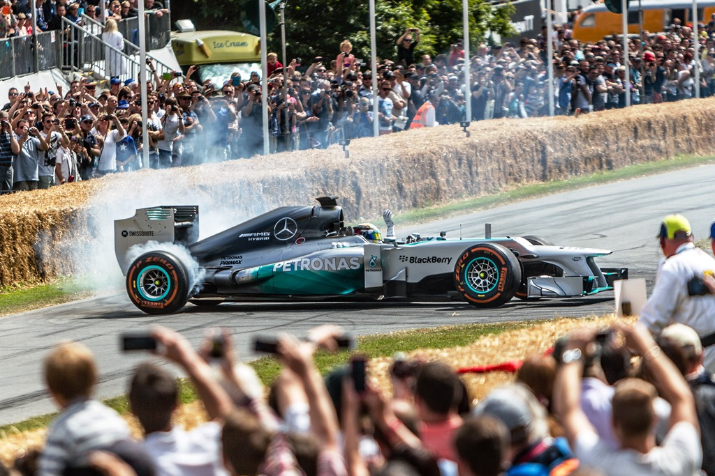 Goodwood Festival of Speed - Mercedes F1
