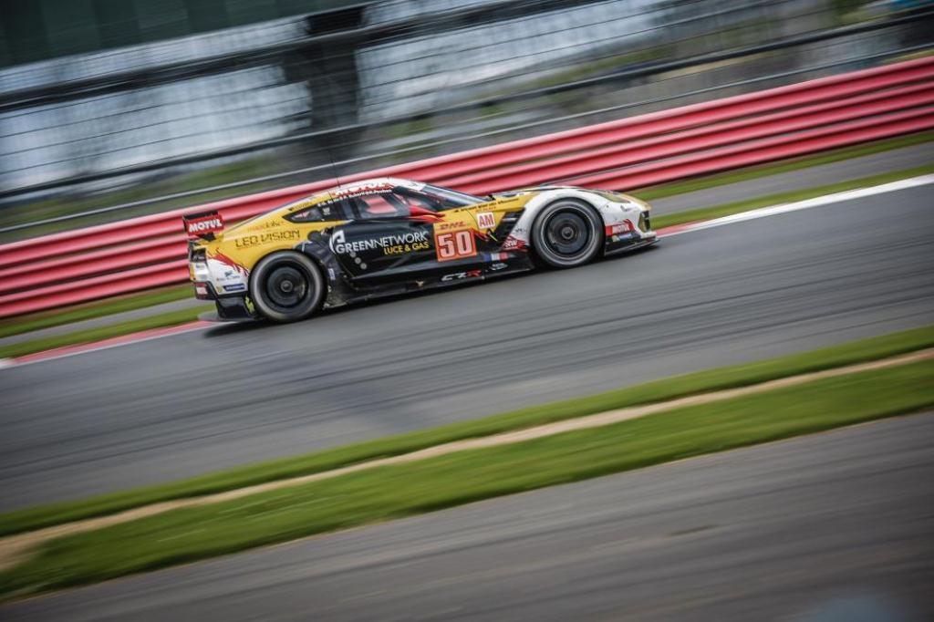 FIA WEC 6H de Silverstone - Corvette C7R