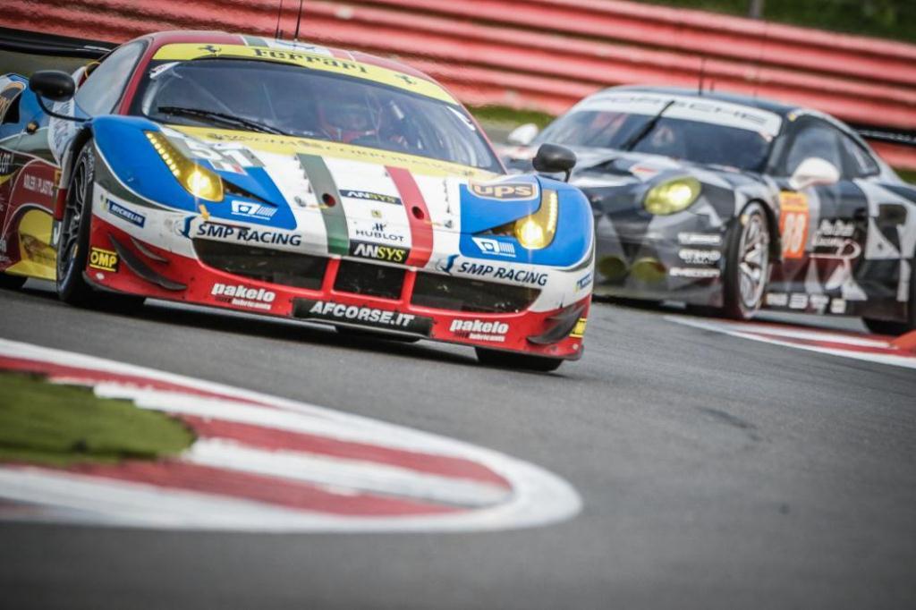 FIA WEC 6H de Silverstone - Ferrari 458 Italia AF Corse