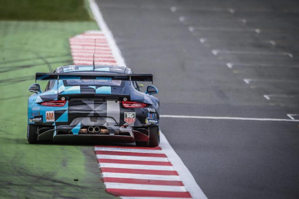 FIA WEC 6H de Silverstone - Porsche 911 RSR 991