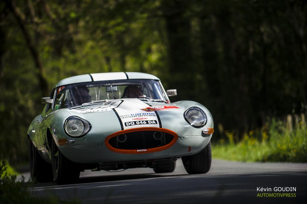 Tour Auto 2015 - Etape 5 Pau - Biarritz - JP.Lajournade-Ch. Bouchet / Jaguar Type E 3.8L