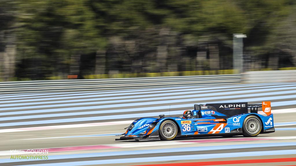 Prologue FIA WEC 2015 - Signatech-Alpine A450b LMP2