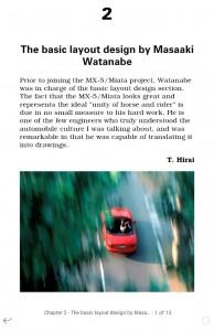 Mazda MX-5 Miata Roadster – Design & Development en E-Book
