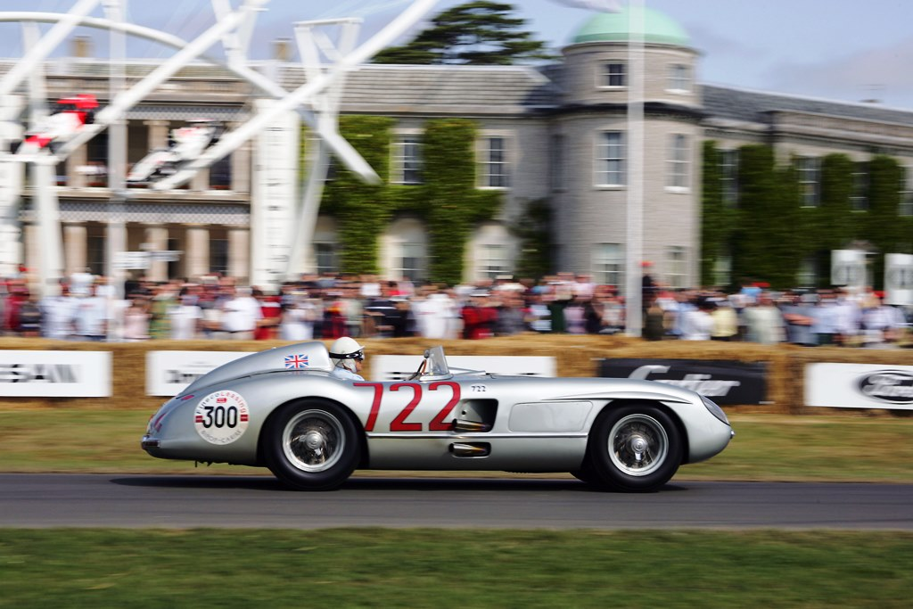 Goodwood Festival of Speed - Mercedes 300 SLR