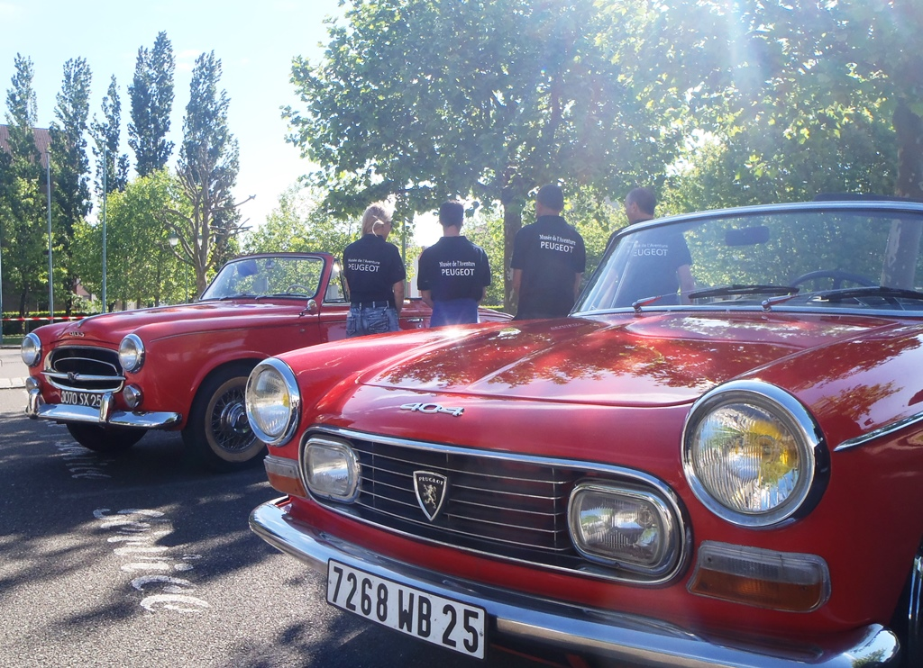Aventure Peugeot - Ballades en cabriolet