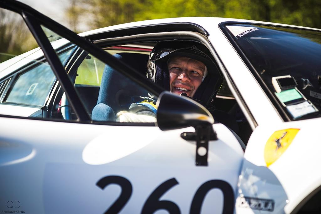 Tour Auto 2015 - Etape 2 Vichy - Clermont-Ferrand - Olivier Panis