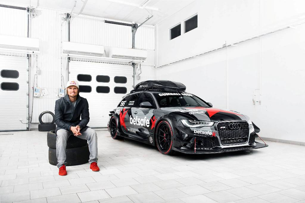 Audi Rs6 Dtm De Jon Olsson 1000 Ch Pour Le Gumball 3000