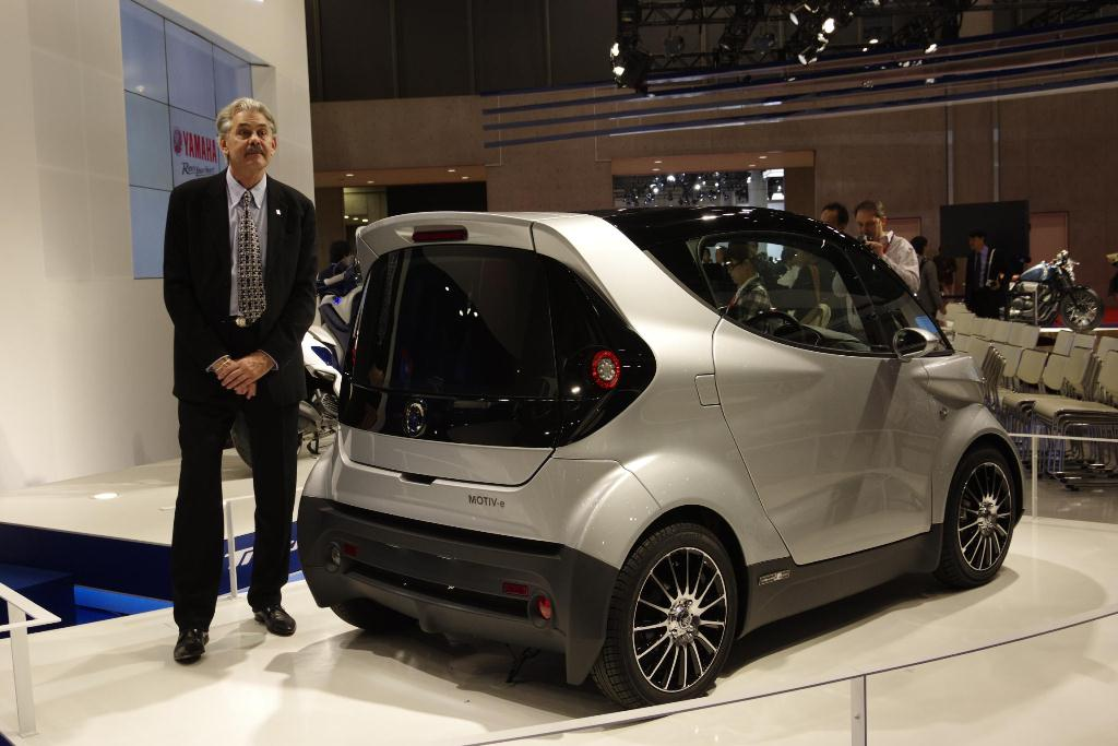 Yamaha MOTIV.e - Gordon Murray Design T.26 - Salon de Tokyo 2013