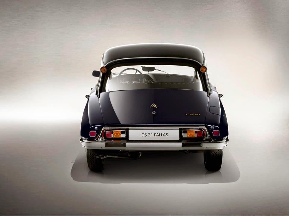 DS 21 Pallas 1968 - DS 60ans