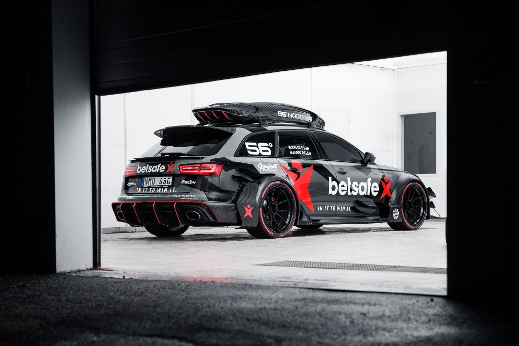 Audi RS6 DTM 2015 - Jon Olsson - Gumball 3000