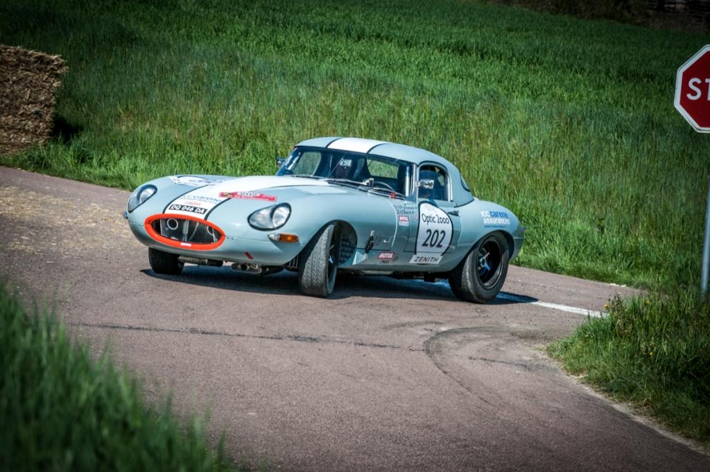 Tour Auto 2015 - Etape 1 Paris - Vichy - JP. Lajournade-Ch.Bouchet / Jaguar Type E 3.8L