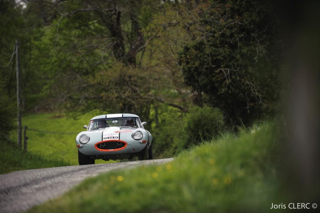 Tour Auto 2015 - Etape 4  Toulouse - Pau - JP. Lajournade-Ch.Bouchet / Jaguar Type E 3.8L