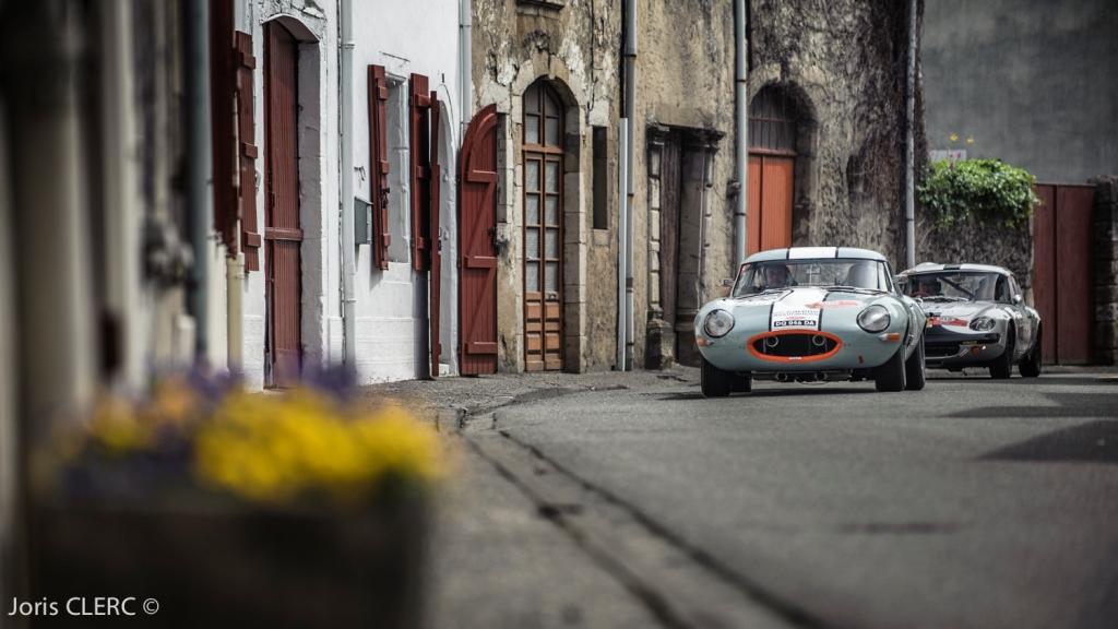 Tour Auto 2015 - Etape 5 Pau - Biarritz - JP. Lajournade-Ch.Bouchet / Jaguar Type E 3.8L & Damien Kohler - Sylvie Laboisne / Lotus Elan