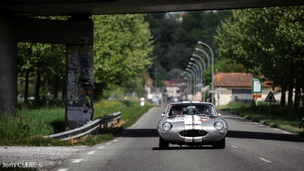Tour Auto 2015 - Etape 5 Pau - Biarritz - L. & D. Le Boeuf / Jaguar Type E 3.8L (Alain Figaret)