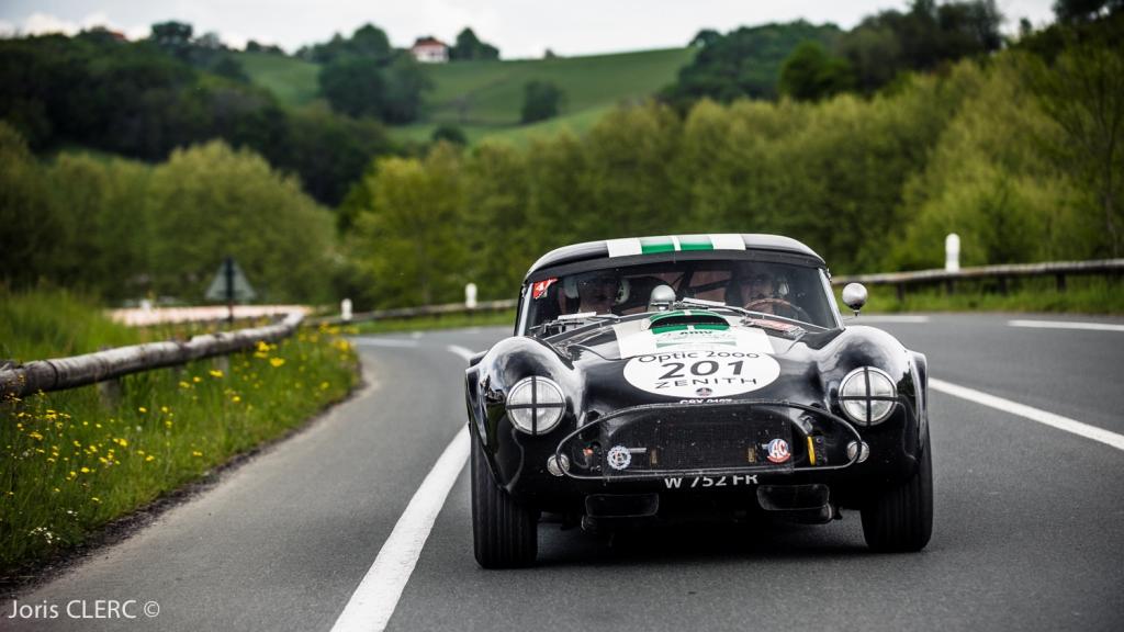 Tour Auto 2015 - Etape 5 Pau - Biarritz - L. Caron - Charles de Villaucourt / AC Cobra Shelby 289