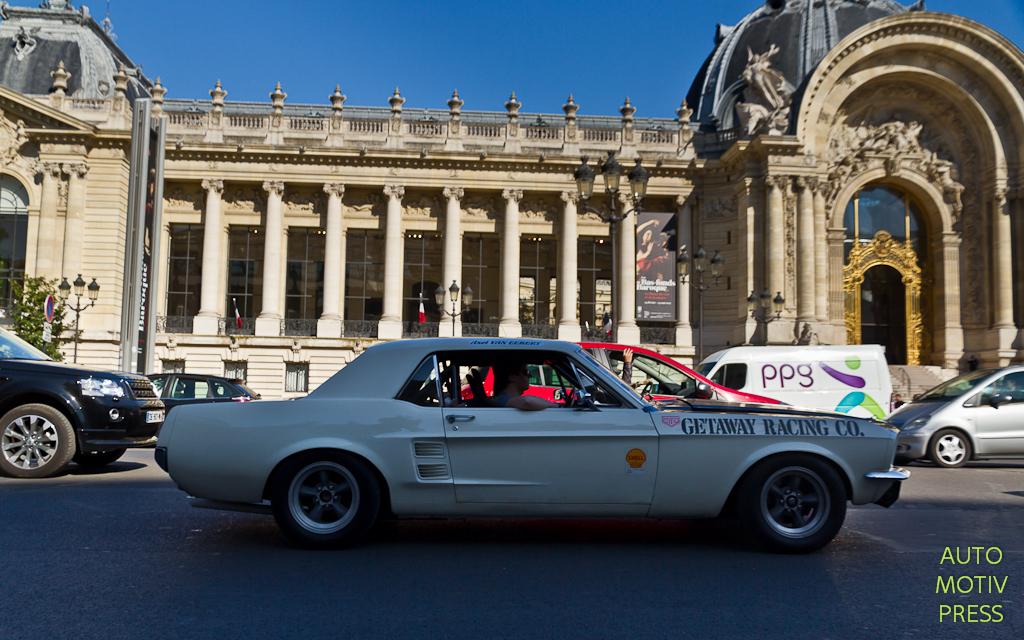 Tour Auto 2015 : Mise en place au Grand Palais