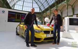Tour Auto 2015 - BMW - Yannick Dalmas & Mélanie Astles