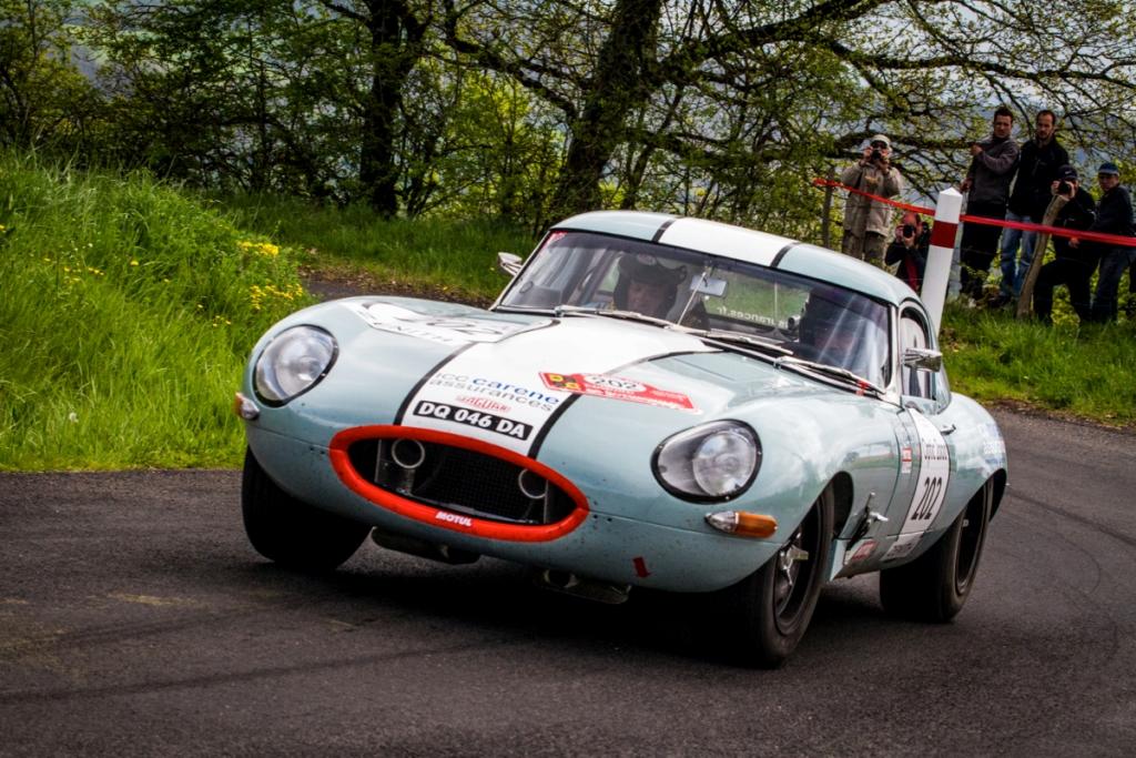 Tour Auto 2015 - Etape 3 Clermont-Ferrand - Toulouse - JP. Lajournade-Ch.Bouchet / Jaguar Type E 3.8L