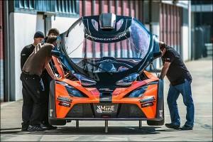 KTM X-Bow Coupé GT4