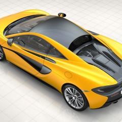 McLaren 540C : Lancement au Salon de Shanghai