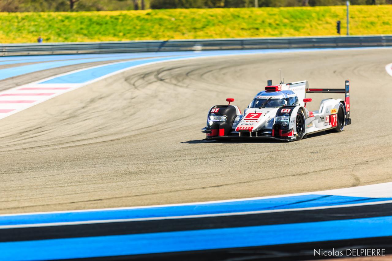 Prologue FIA WEC 2015 - Audi R18 e-tron quattro