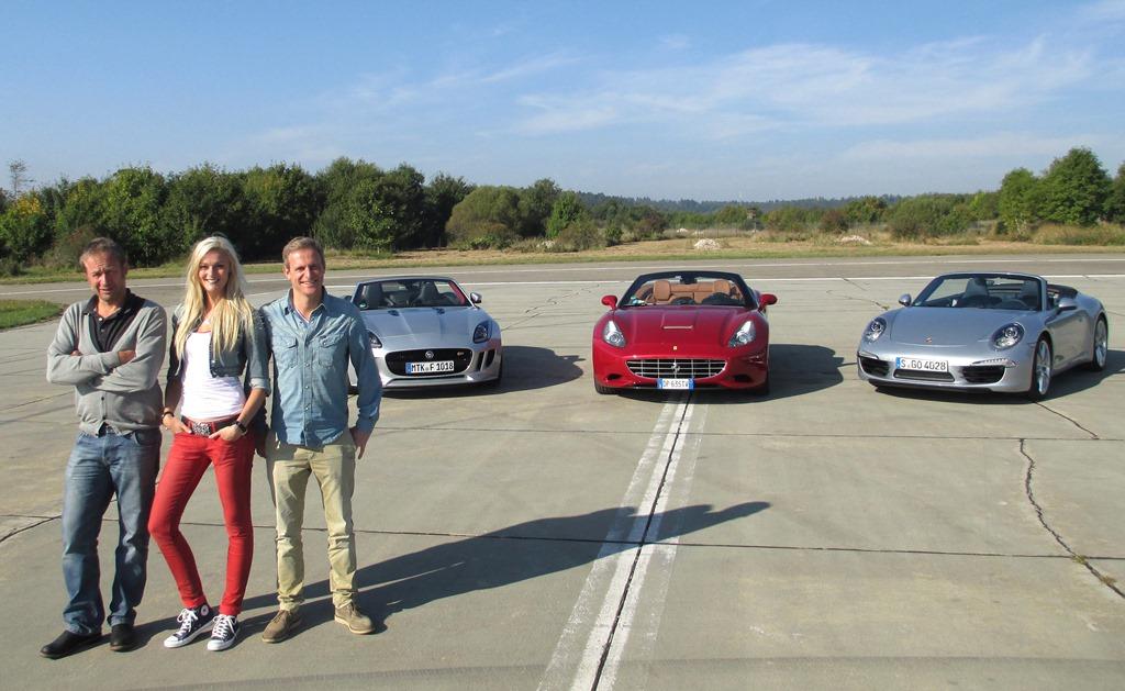 Grip-Das Motormagazin (Niki Schelle, Miriam Höller und Matthias Malmedie) - Grip, les fous du volants - l'Equipe21 TV